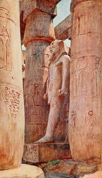 Below the Cataracts - Statue of Ramses II., Luxor Temple (1907)