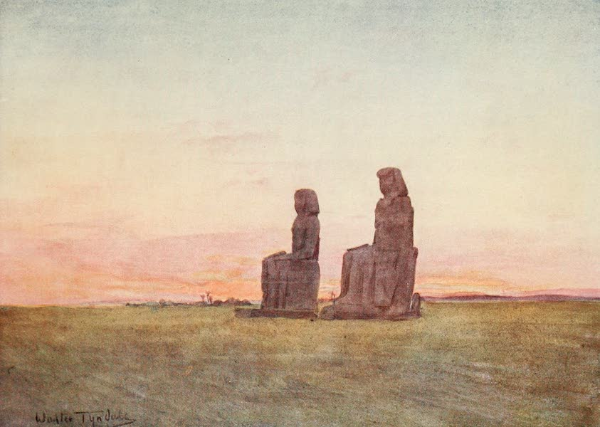 Below the Cataracts - The Colossi at Thebes (1907)