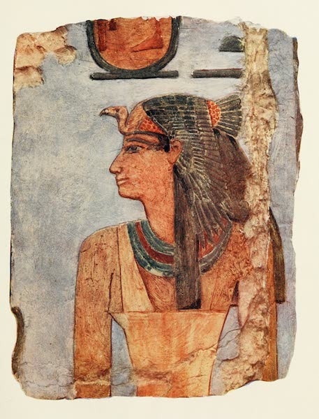 Below the Cataracts - Senseneb, in the Temple of Hatshepsu at Der El-Bahri (1907)