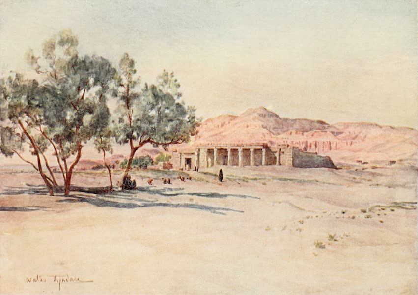 Below the Cataracts - Temple of Seti I. at Gurna, Thebes (1907)