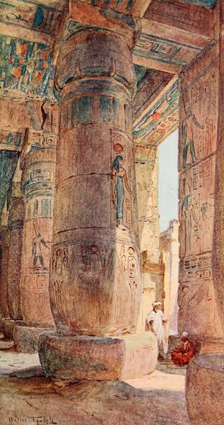 Below the Cataracts - In the Temple of Ramses III., Medinet Habu (1907)