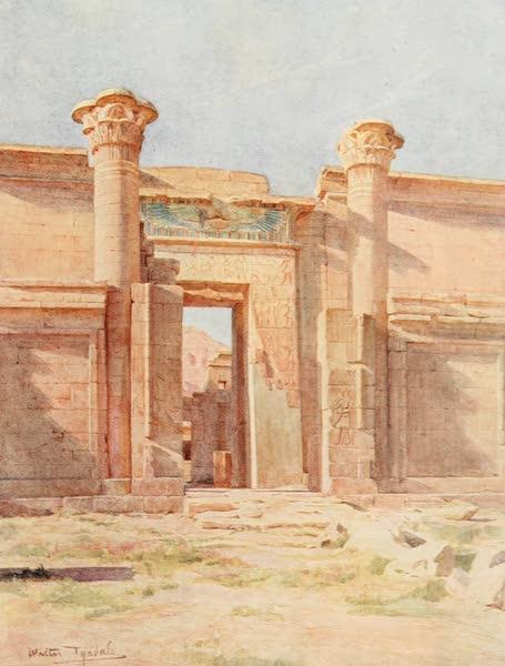 Below the Cataracts - The Ptolemaic Pylon, Medinet Habu (1907)