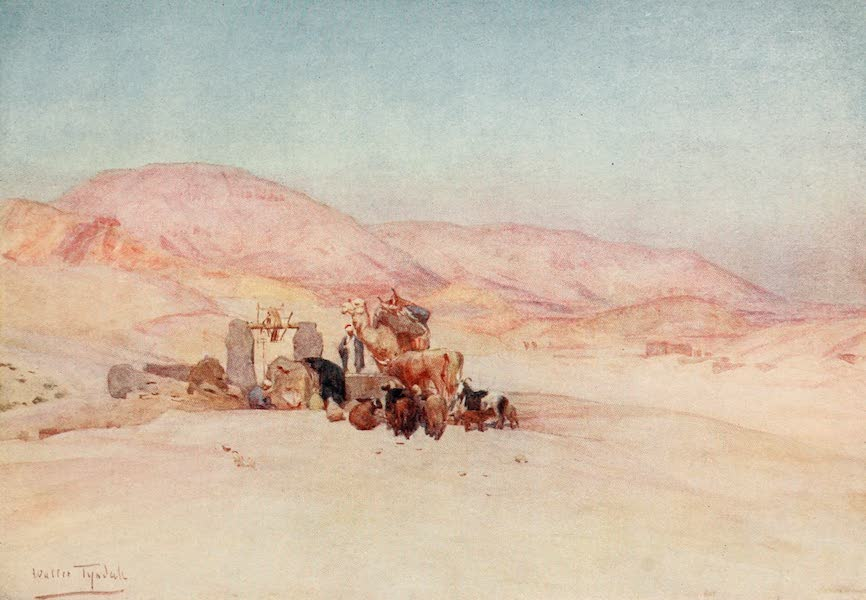 Below the Cataracts - The Well, on the Road to the Tombs of the Kings (1907)