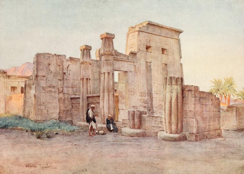Below the Cataracts - The Temple of Nektenebo, Medinet Habu (1907)