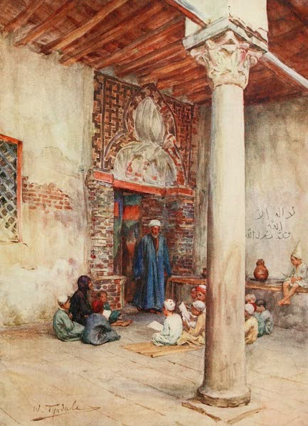 Below the Cataracts - An Arab School (1907)