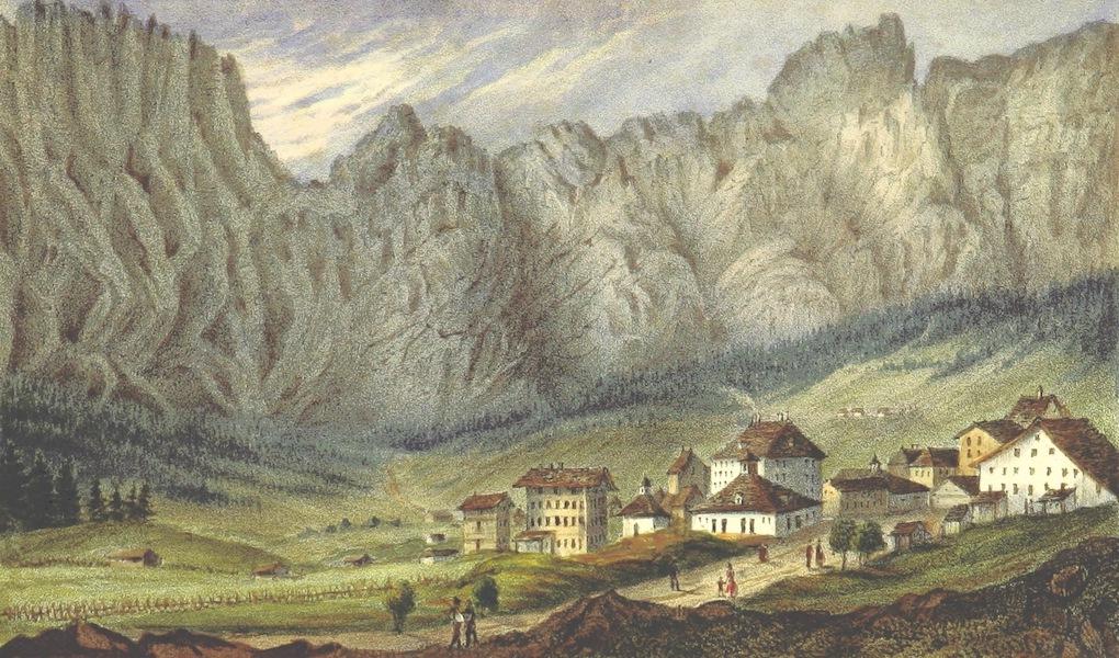 Bemerkungen aus den hochsten Schweizer-Alpen - Bains de Loueche and Leuck Bad (1840)