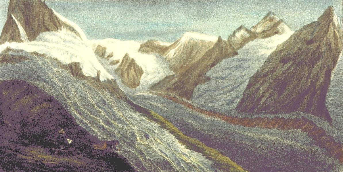 Bemerkungen aus den hochsten Schweizer-Alpen - Zmutt-Gletscher am Fuss des Matterhorns (1840)