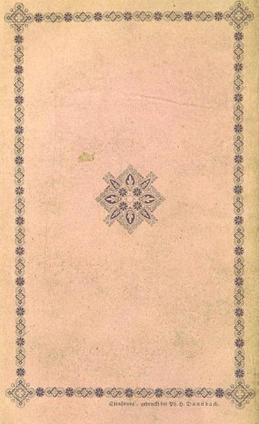 Bemerkungen aus den hochsten Schweizer-Alpen - Back Cover (1840)