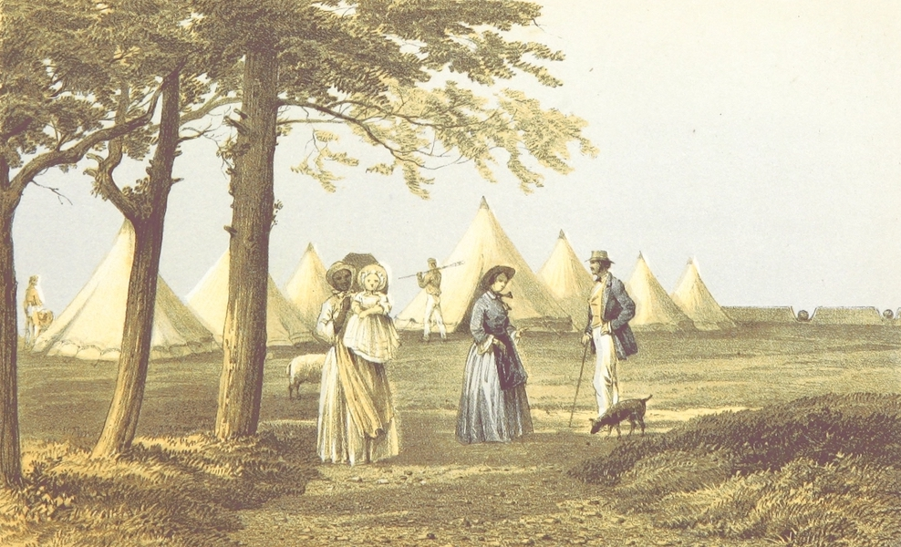 Bermuda, a Colony, a Fortress, and a Prison - Ireland Isle, 1856, Summer Sleeping Tents (1857)