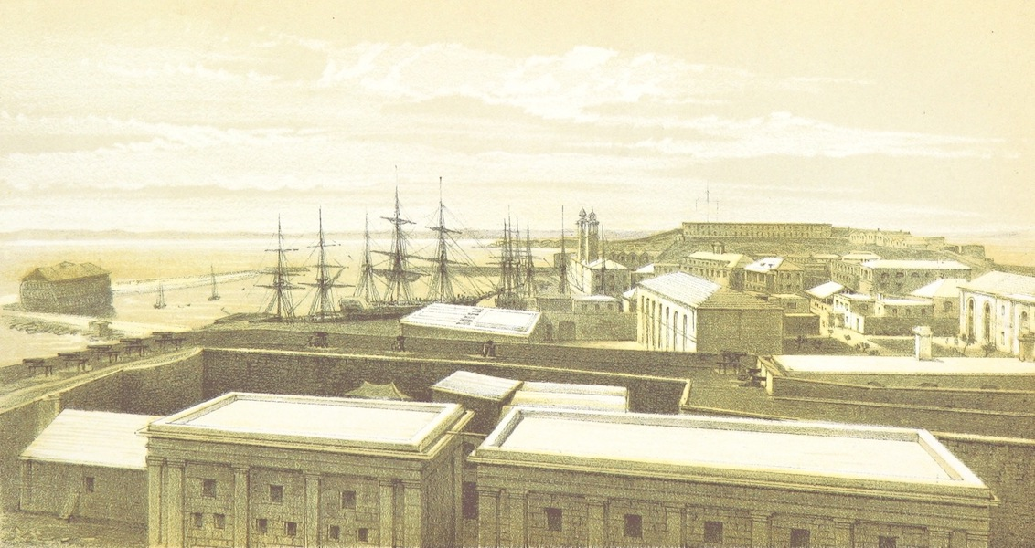 Bermuda, a Colony, a Fortress, and a Prison - Dockyard, Camder Hulks and Barracks (1857)