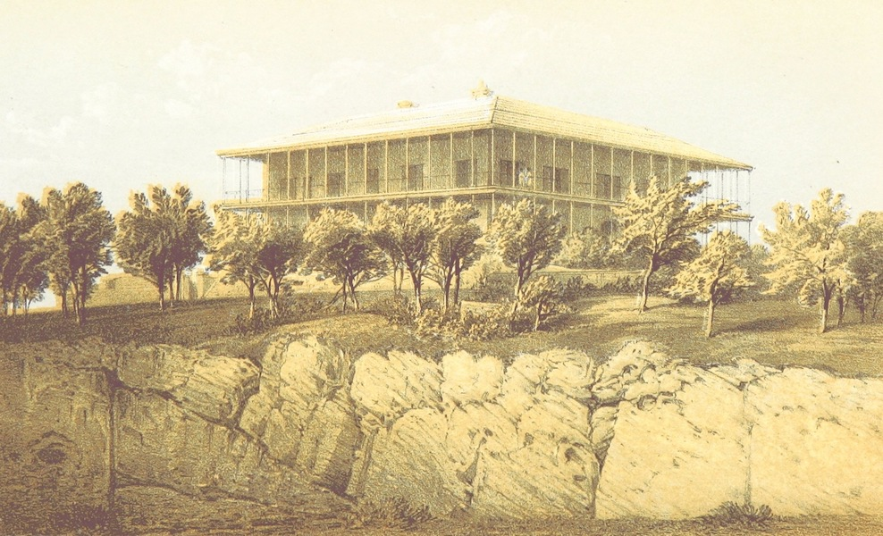 Bermuda, a Colony, a Fortress, and a Prison - The Commissioner's House (1857)