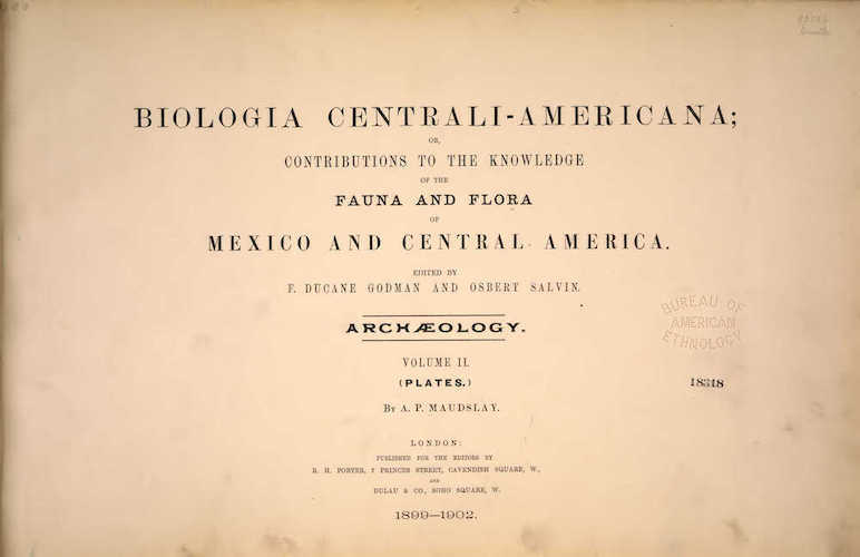 Travel & Scenery - Biologia Centrali-Americana Atlas Vol. 2