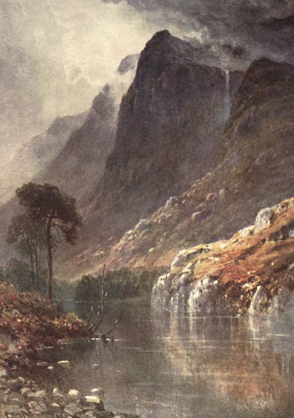 Bonnie Scotland Painted and Described - Beneath the Crags of Ben Venue, Perthshire (1912)