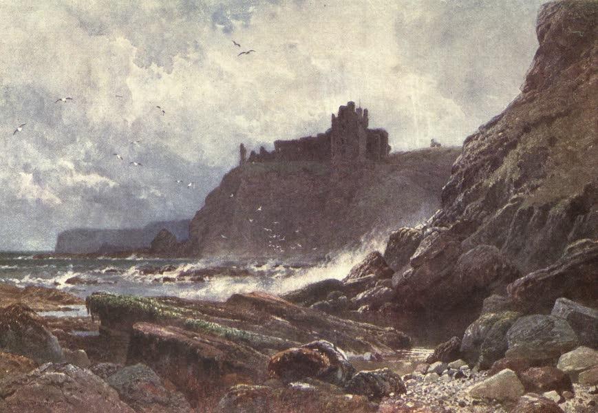 Bonnie Scotland Painted and Described - Tantallon Castle, on Coast of Haddingtonshire (1912)