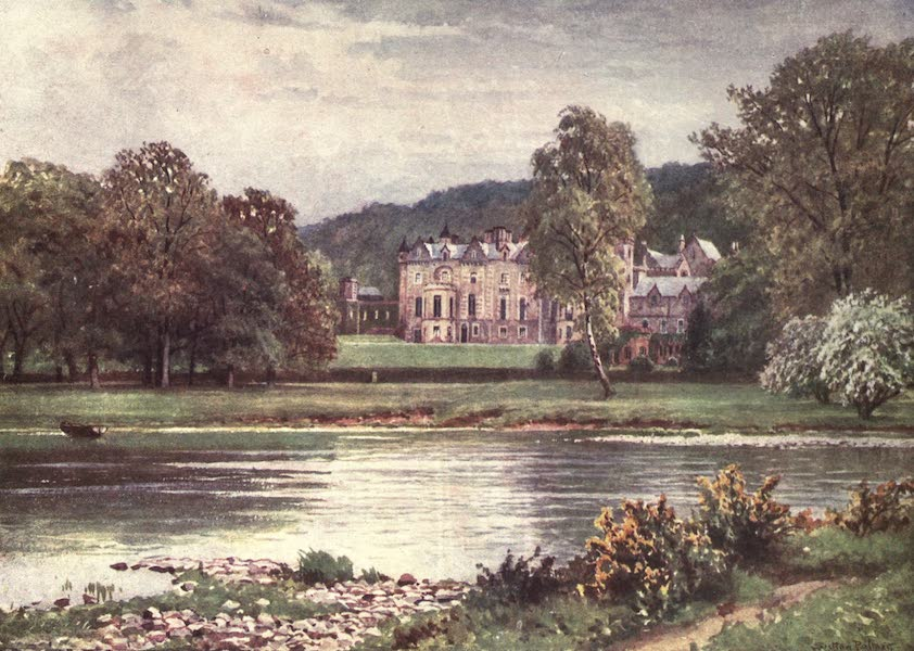 Bonnie Scotland Painted and Described - Abbotsford, Roxburghshire (1912)