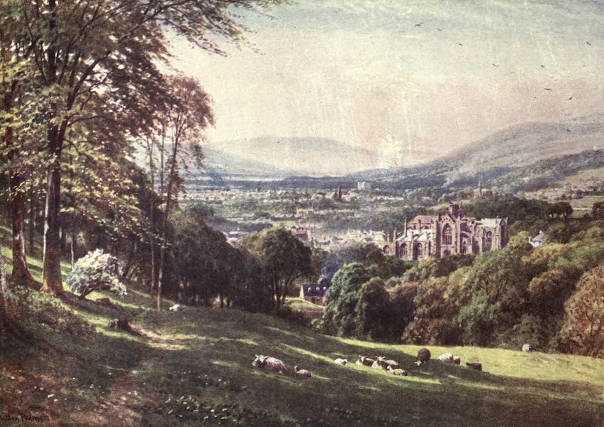 Bonnie Scotland Painted and Described - Melrose, Roxburghshire (1912)