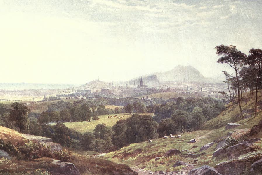 Bonnie Scotland Painted and Described - Edinburgh from