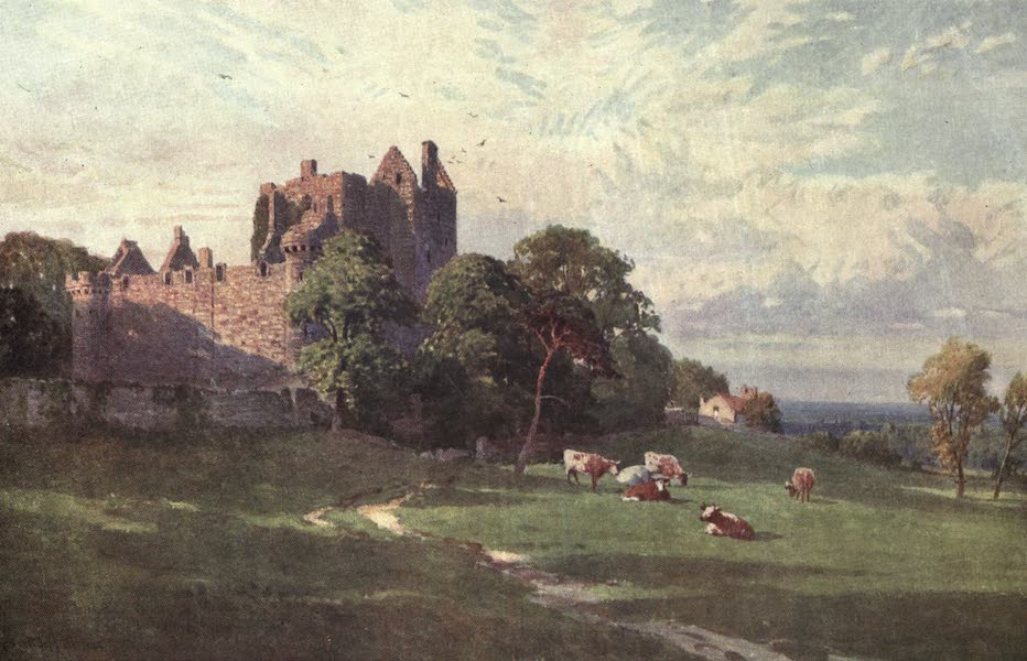 Bonnie Scotland Painted and Described - Craigmillar Castle, near Edinburgh (1912)