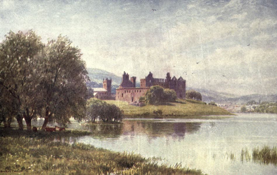 Bonnie Scotland Painted and Described - Linlithgow Palace (1912)