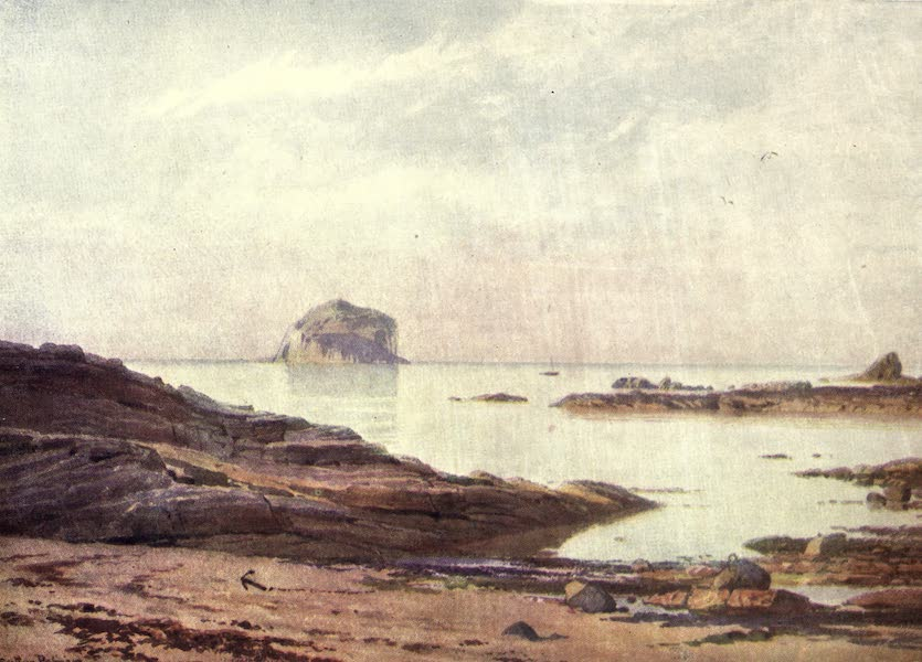 Bonnie Scotland Painted and Described - The Bass Rock—A Tranquil Evening (1912)