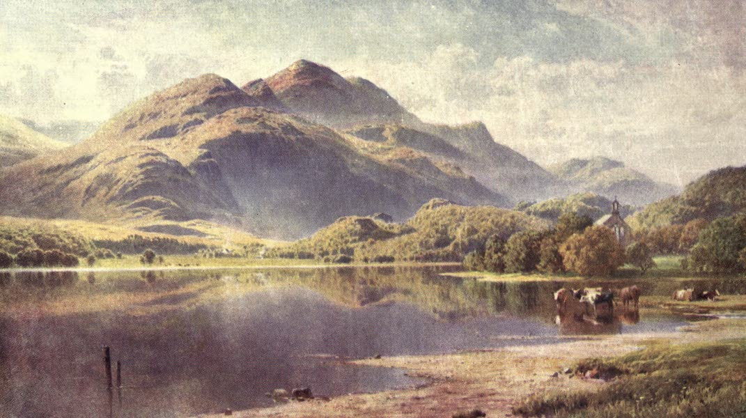 Bonnie Scotland Painted and Described - Loch Achray, the Trossachs, Perthshire (1912)
