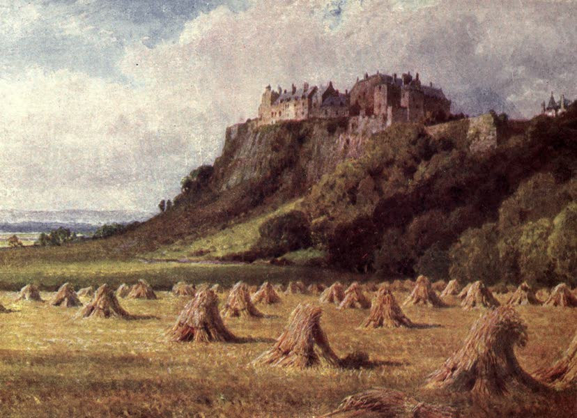 Bonnie Scotland Painted and Described - Stirling Castle from the King's Knot (1912)