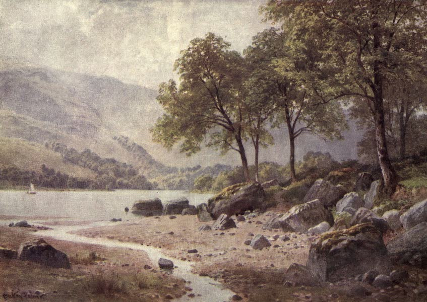 Bonnie Scotland Painted and Described - Near Ardlui, Loch Lomond, Dumbartonshire (1912)