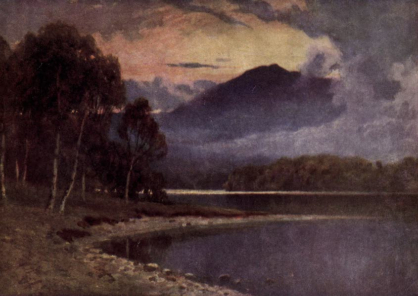 Bonnie Scotland Painted and Described - The Silver Strand, Loch Katrine, Perthshire (1912)