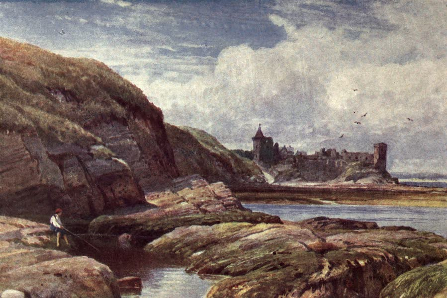 Bonnie Scotland Painted and Described - The Castle of St. Andrews, Fifeshire (1912)
