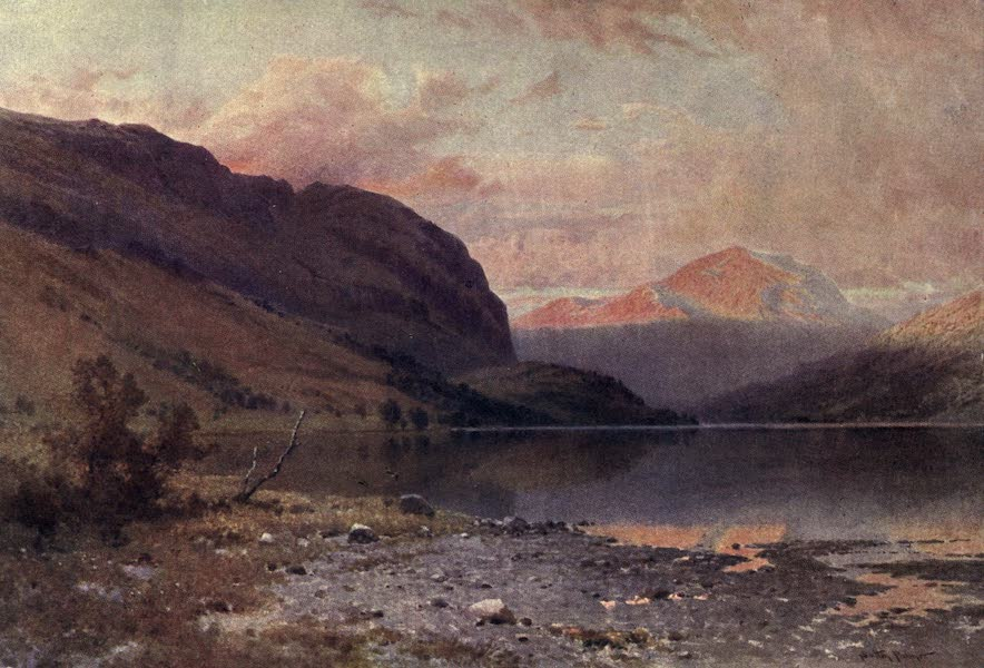 Bonnie Scotland Painted and Described - Loch Lubnaig, Perthshire (1912)