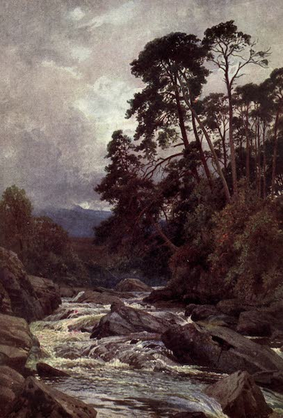 Bonnie Scotland Painted and Described - On the Dochart, Killin, Perthshire (1912)
