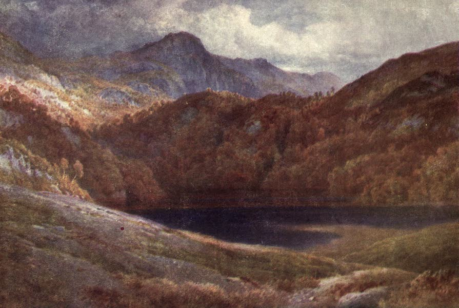 Bonnie Scotland Painted and Described - Ben A'an, corner of Loch Katrine, Perthshire (1912)