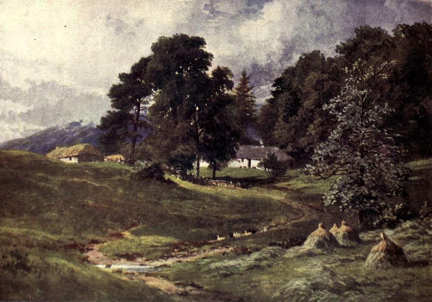 Bonnie Scotland Painted and Described - A Croft near Dalmally, Argyllshire (1912)