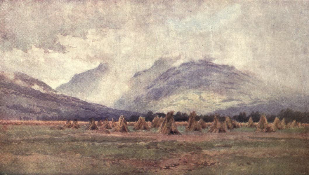 Bonnie Scotland Painted and Described - Wet Harvest Time near Dalmally, Argyllshire (1912)