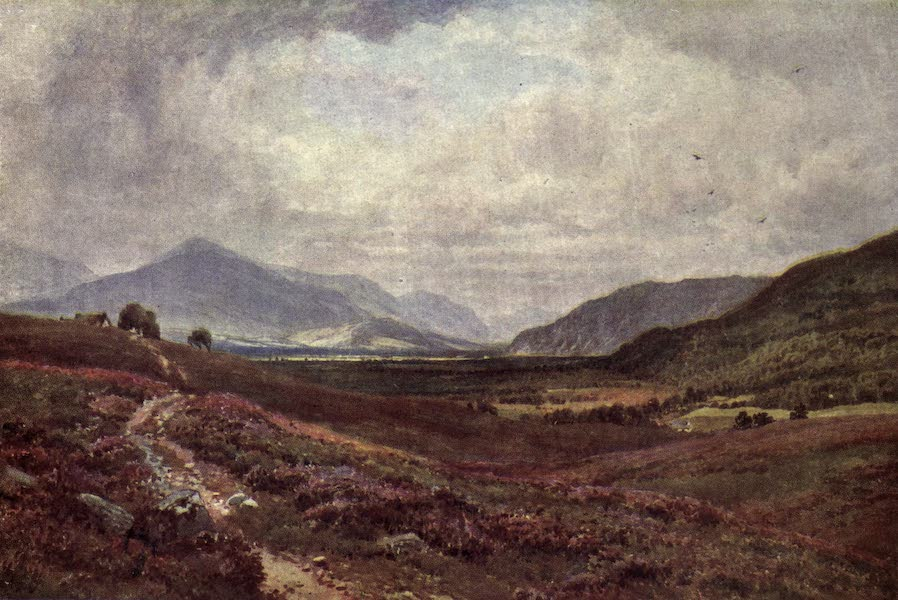 Bonnie Scotland Painted and Described - The Grampians from Boat of Garten, Inverness-shire (1912)
