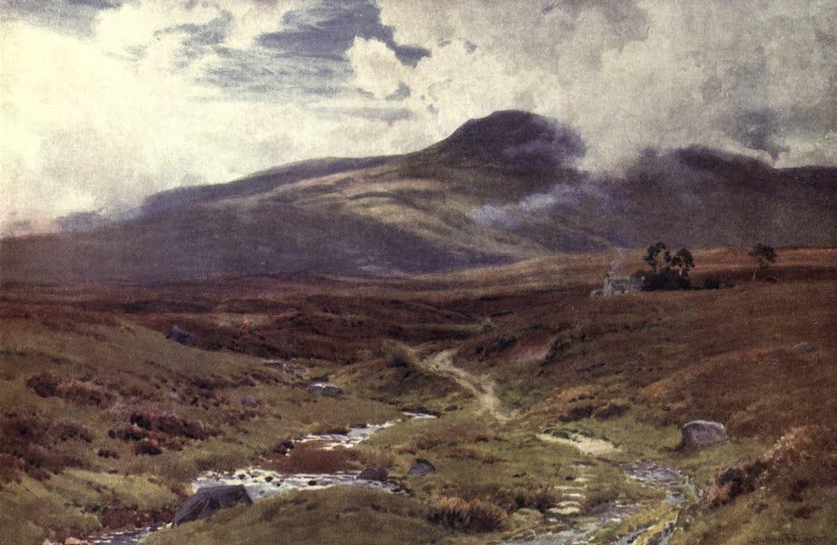 Bonnie Scotland Painted and Described - A Moor near Killin, Perthshire (1912)