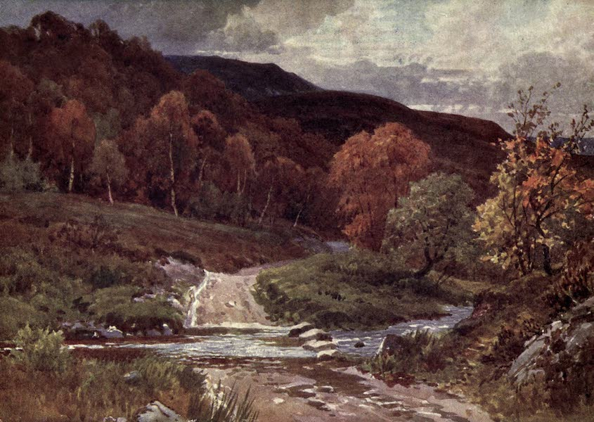 Bonnie Scotland Painted and Described - In Glenfinlas, Perthshire (1912)