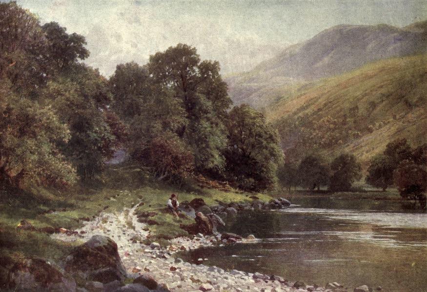 Bonnie Scotland Painted and Described - Beneath the Slopes of Ben Ledi, near Callander, Perthshire (1912)