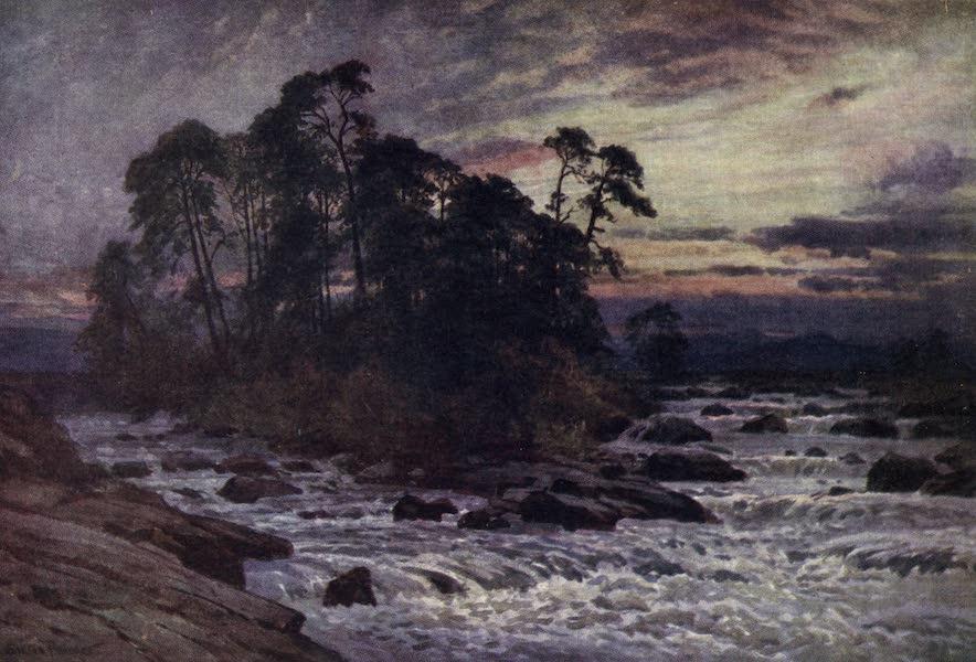 Bonnie Scotland Painted and Described - A Wild Spot, Killin, Perthshire (1912)