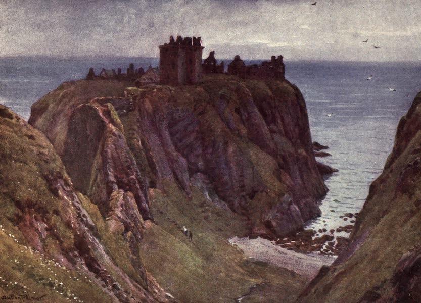 Bonnie Scotland Painted and Described - Dunnottar Castle, Kincardineshire (1912)