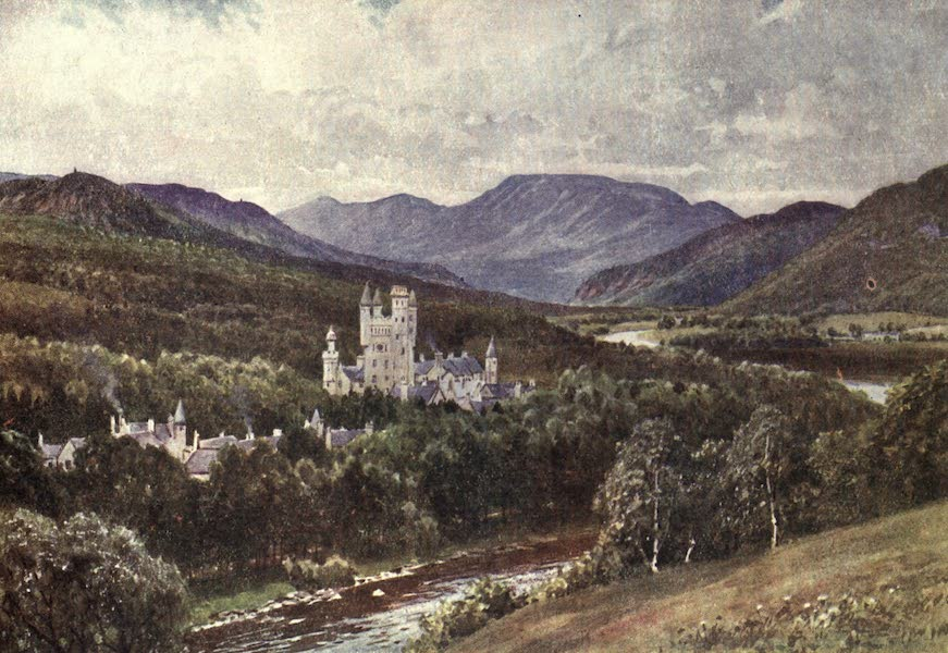Bonnie Scotland Painted and Described - Balmoral, Aberdeenshire (1912)