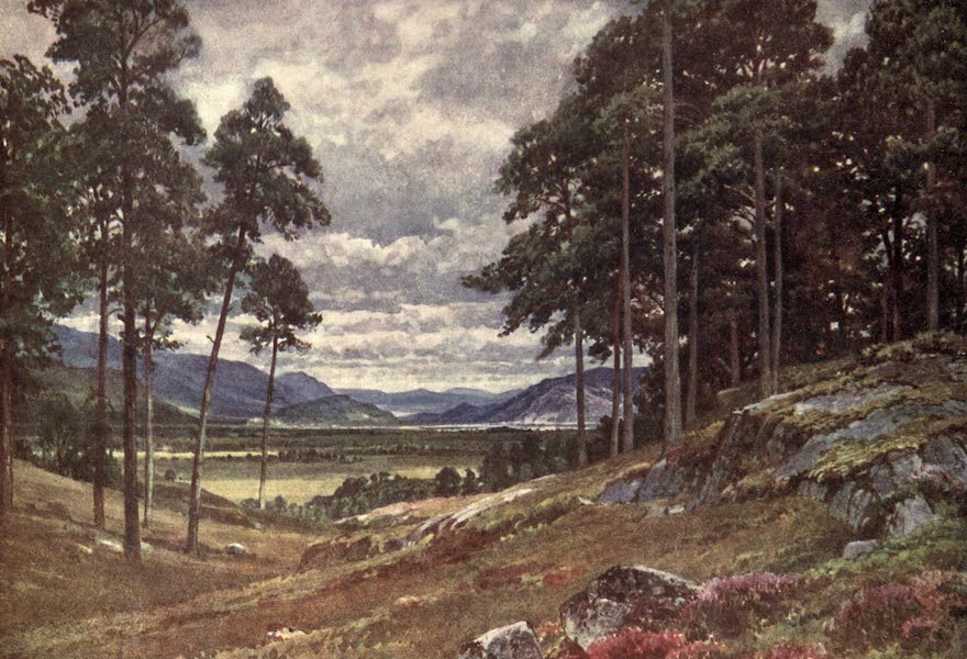 Bonnie Scotland Painted and Described - A Peep of the Grampians, Inverness-shire (1912)