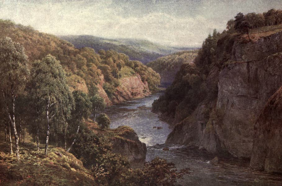 Bonnie Scotland Painted and Described - The River Glass near Beauly, Inverness-shire (1912)