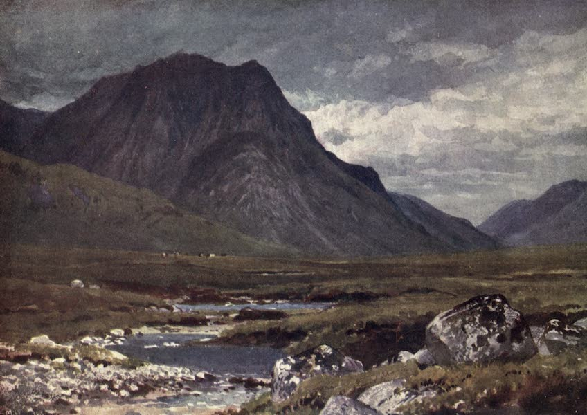 Bonnie Scotland Painted and Described - Moor of Rannoch, Perthshire and Argyllshire (1912)