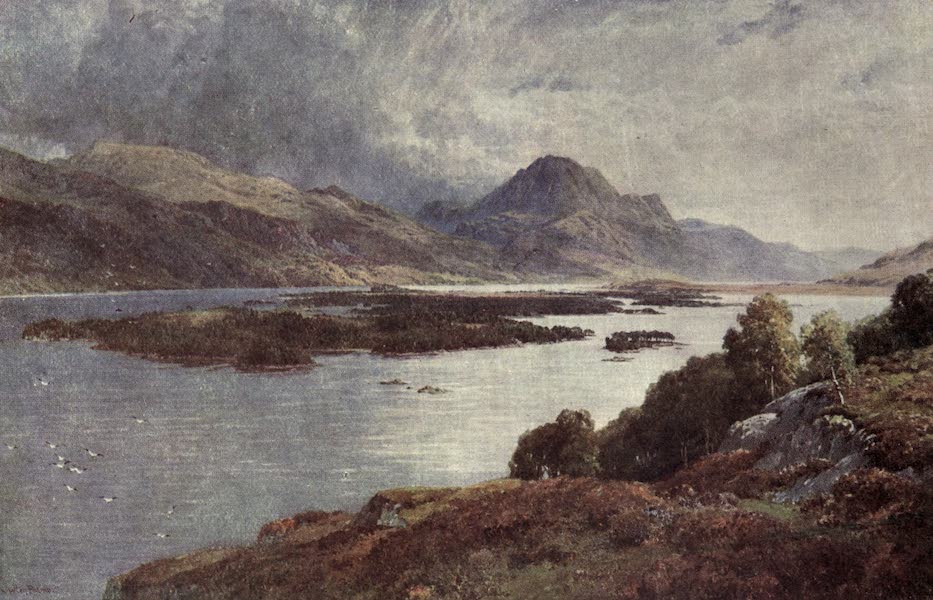 Bonnie Scotland Painted and Described - The Isles of Loch Maree, Ross-shire (1912)