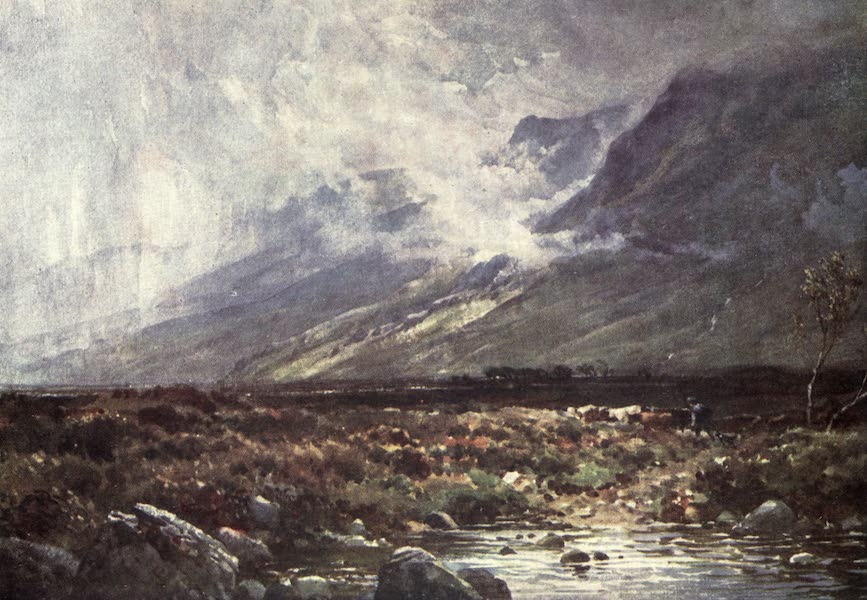 Bonnie Scotland Painted and Described - Moor and Mountain, Ross-shire (1912)