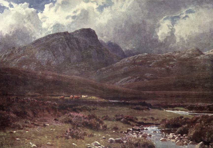 Bonnie Scotland Painted and Described - Crags near Poolewe, Ross-shire (1912)