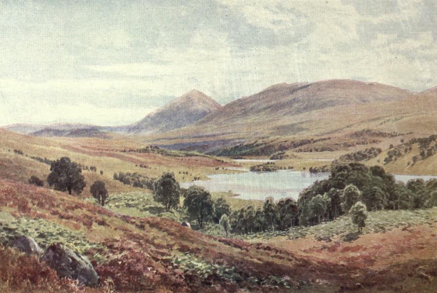 Bonnie Scotland Painted and Described - Tomdoun, Glen Garry, Inverness-shire (1912)