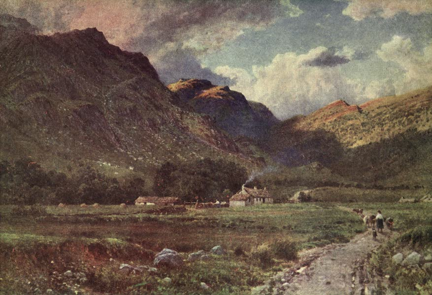 Bonnie Scotland Painted and Described - A Shepherd's Cot in Glen Nevis, Inverness-shire (1912)