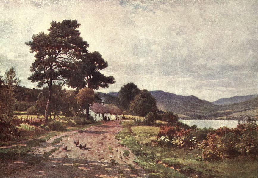 Bonnie Scotland Painted and Described - A Croft near Taynuilt, Loch Etive, Argyllshire (1912)
